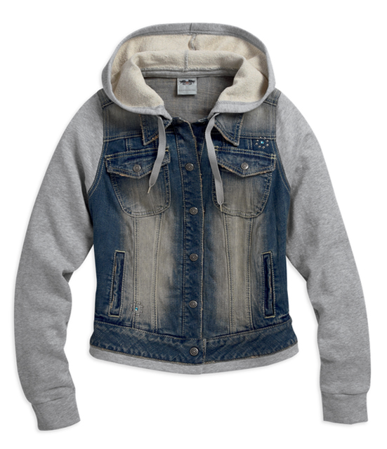 HD Women's Hooded Denim