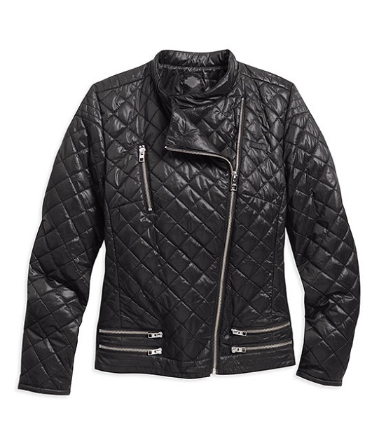 QUILTED NYLON CASUAL JACKET
