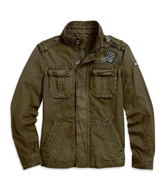 PATCH CARGO CASUAL JACKET