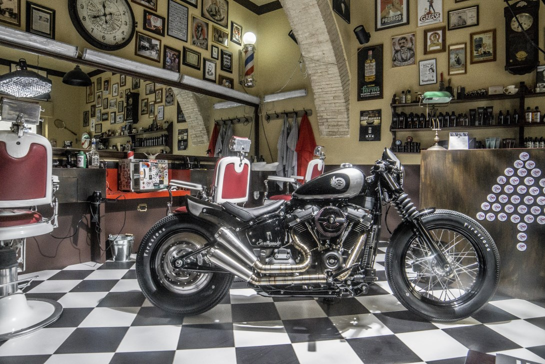 Earthquake Harley-Davidson Perugia Battle of the Kings 2018