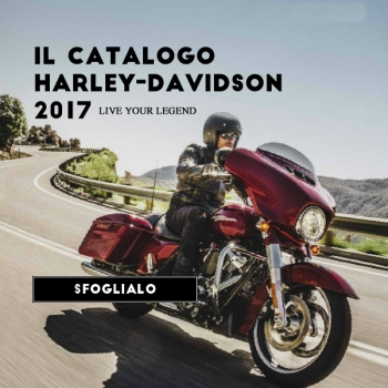Catalogo Harley-Davidson Perugia 2017