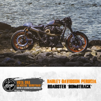 Harley-Davidson Perugia Roadster Bombtrack