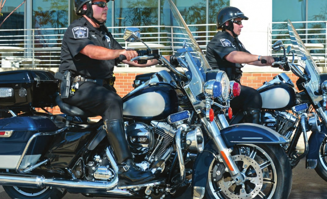 2016 MOTORCYCLES POLICE