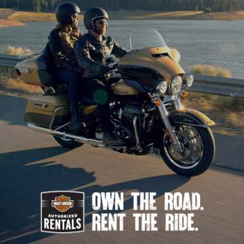 Rent Harley-Davidson Perugia